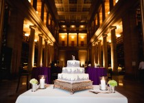 Cake in Reading Room - DnK Photography